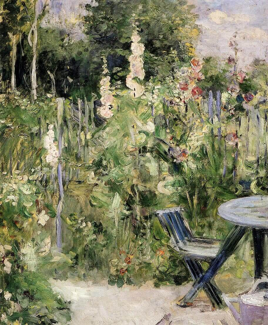 """""""Roses Tremieres"""" by Berthe Morisot"""